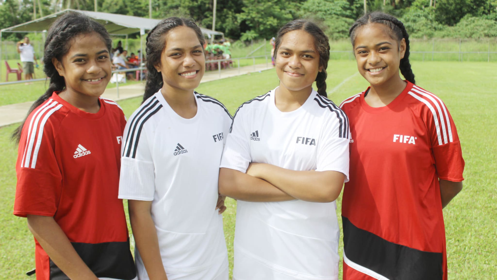 Women's Football - News - Tonga is rebuilding from the ground up