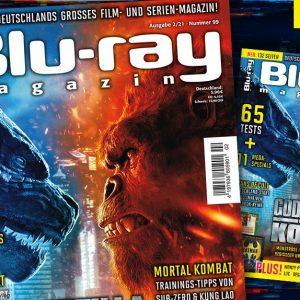 """BLU-RAY 2/2021: """"Godzilla vs. Kong"""""""