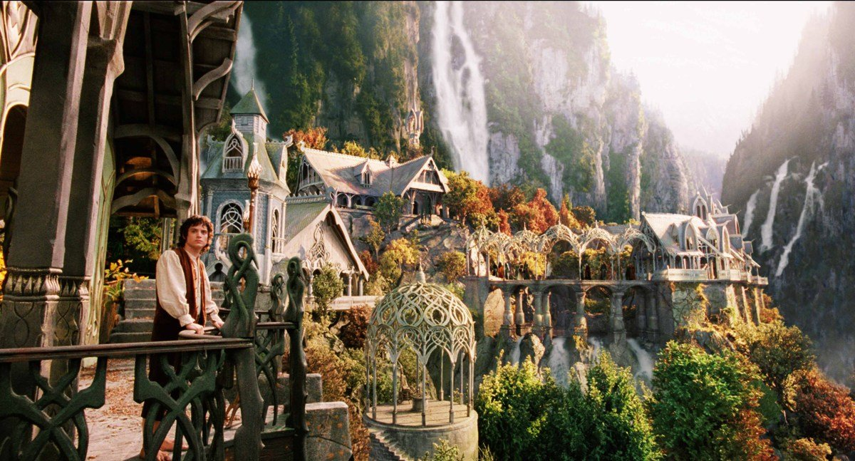 New Zealand, organize an excursion to the site of The Lord of the Rings
