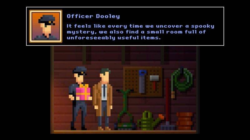 Darkside Detective: A Fumble in the Dark: McQueen e Dooley.