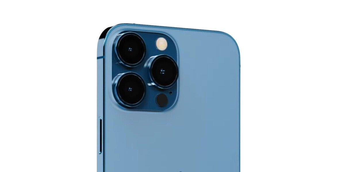 IPhone 13 Pro Max photo block display