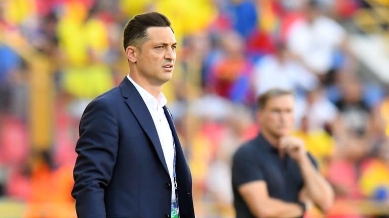 Matti Merrill Radoy, coach of Romania
