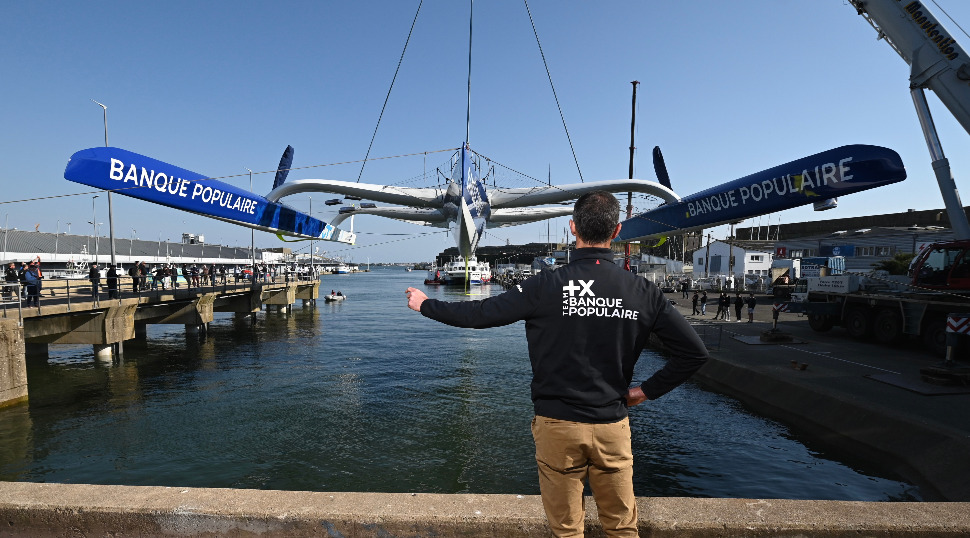 Launch of Maxi Banque Populaire in Lorient