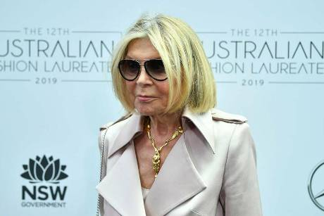 Carla Zampatti im Jahr 2019 in Sydney