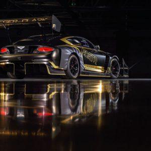 Bentley présente la Continental GT3 Pikes Peak