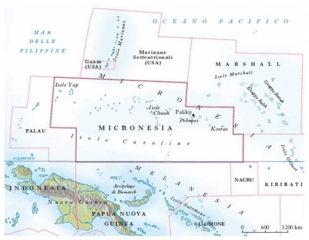 Personaggi Soresinesi Cesare Pisoni e la Micronesia