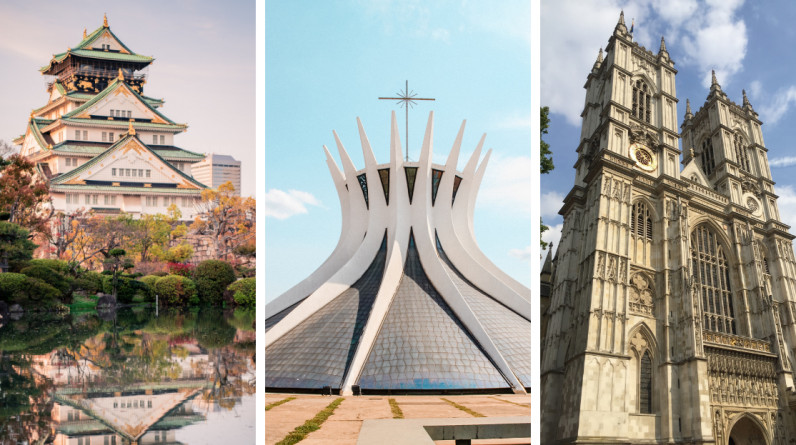 Escape: Here are the 20 most beautiful monuments in the world according to science!