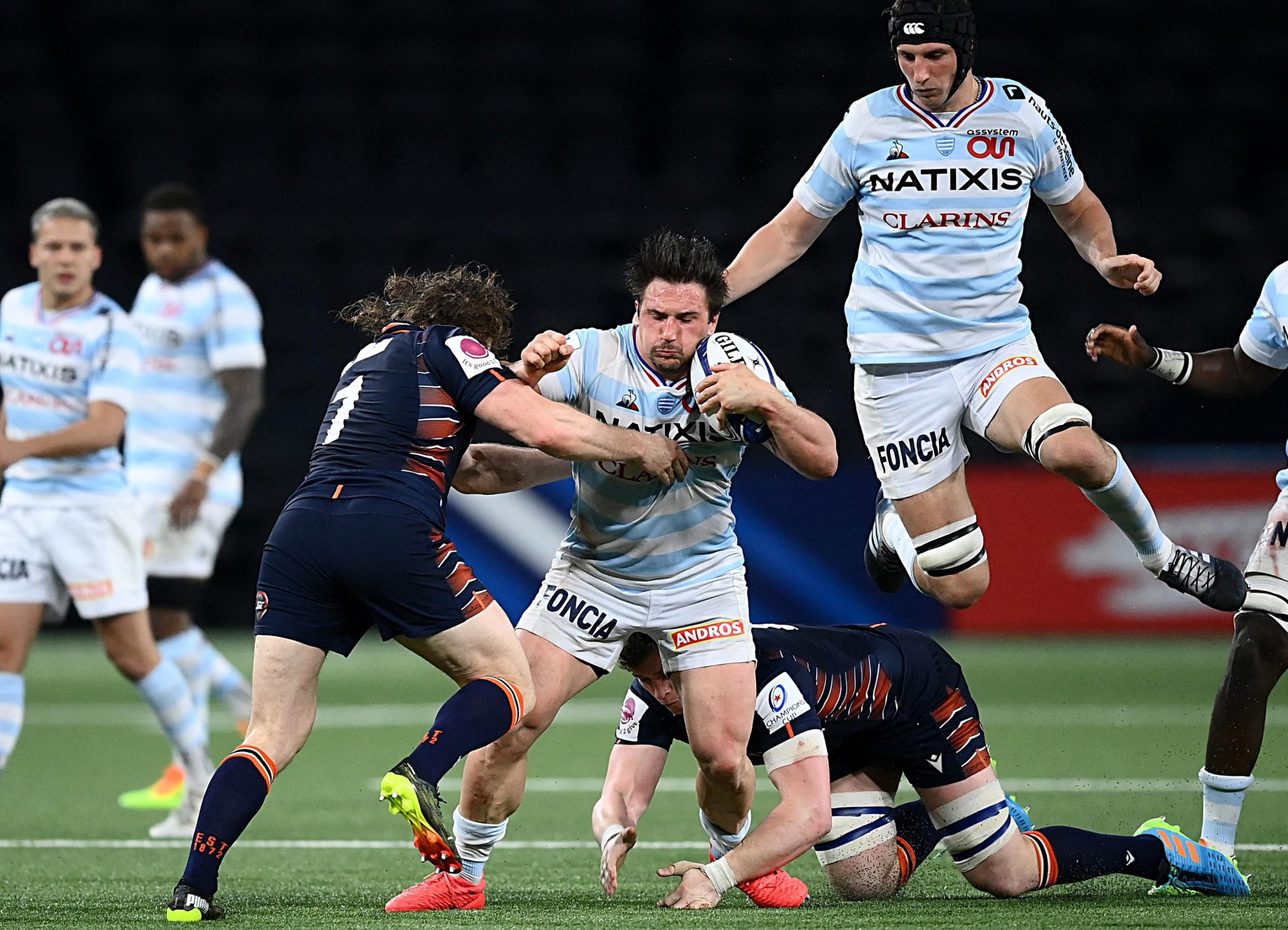 European Rugby Cup: Racing 92 fell to Bordeaux