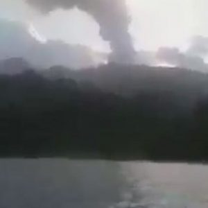 Evacuation of Saint Vincent begins, due to danger
