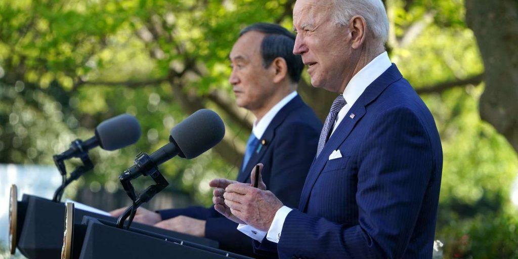 Joe Biden and Yoshihide Suga flaunt their loneliness