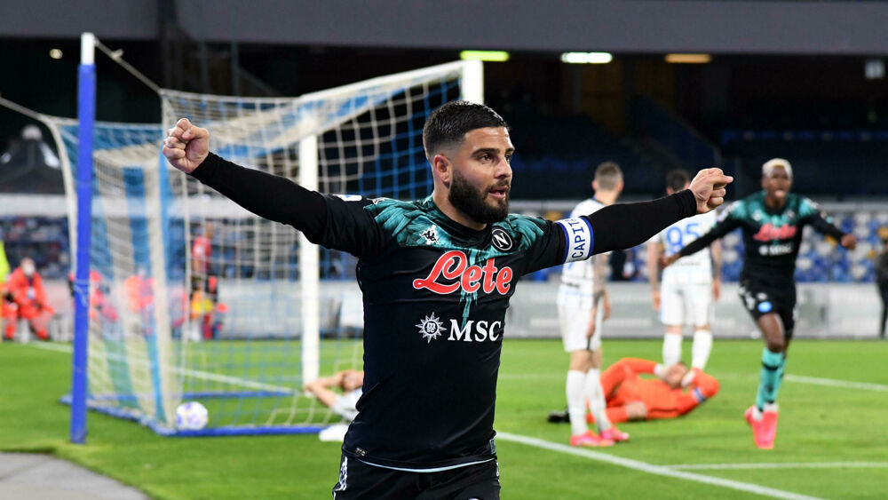 Napoli Inter 1-1    The goal  Match report