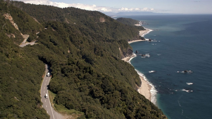 """""""New Zealand from Above - A Paradise on Earth"""" on 3sat on broadcast and TV: Episode 3 of a documentary on nature"""