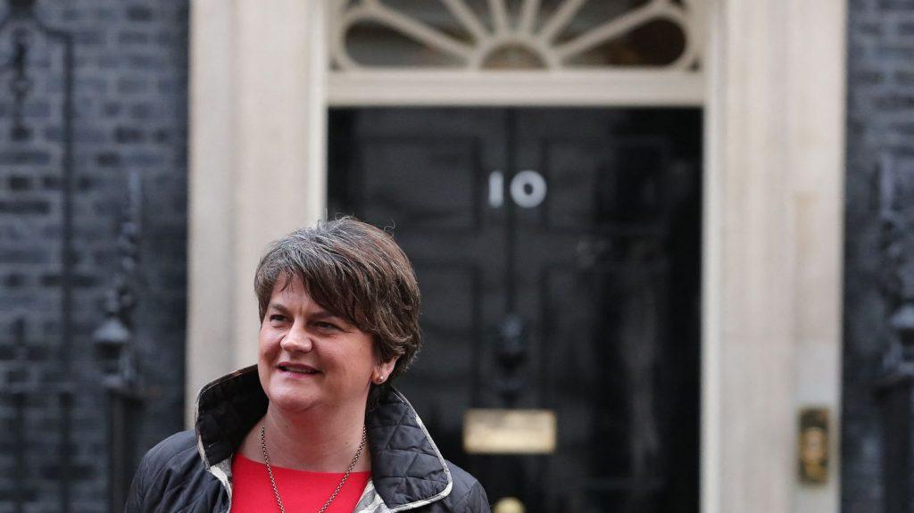 Northern Ireland Prime Minister Arlene Foster announces her resignation