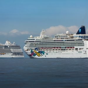 Norwegian Cruise Line CEO talks about how the company's cruise ships are safely sailing again