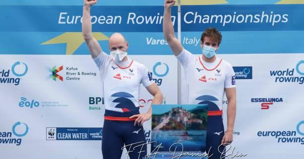 """Rowing - European Commission - Matteo Androdes, European champion: """"This medal really means something"""""""