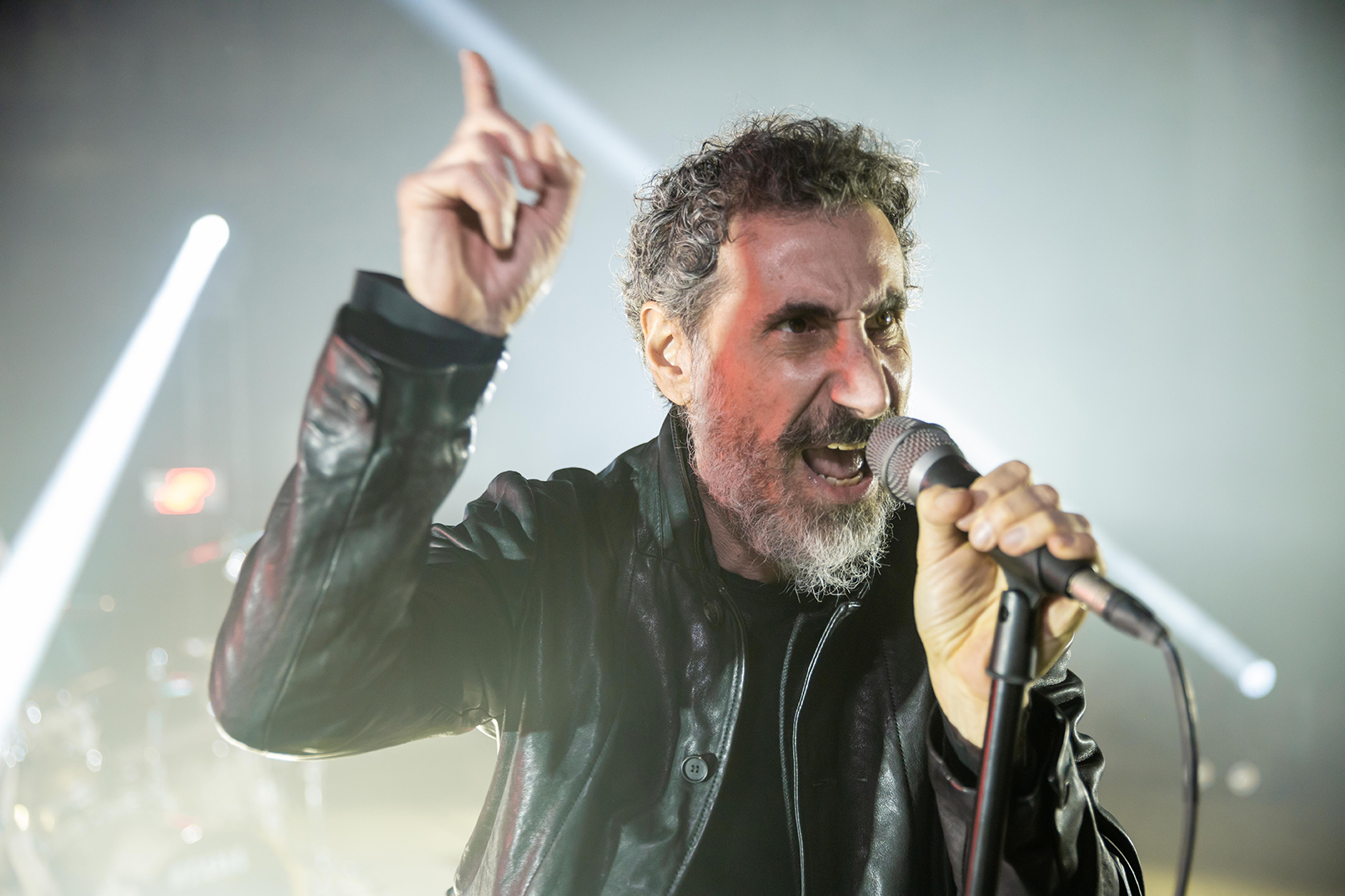 Serge Tankian does not allow himself to dictate to him
