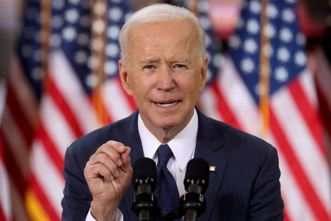 US President Joe Biden, March 31, 2021.