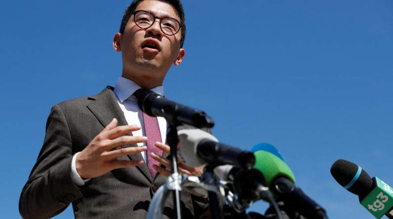 The UK grants asylum to Nathan Law and reveals $ 59 million in funding from Hong Kong