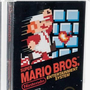 """The video game """"Super Mario Bros"""" was auctioned for record amounts"""