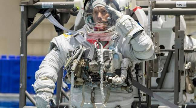 """""""This second stay on board the International Space Station will be more difficult than the first,"""" Thomas Pesquet said three days before departure."""