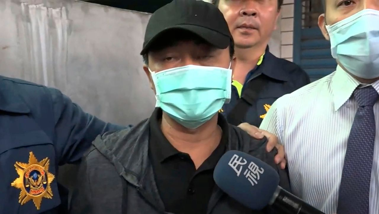 Train accident in Taiwan: The suspected perpetrator apologizes, tears