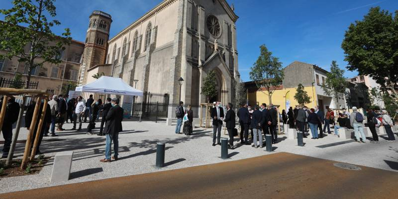 After nine months of operation, a new public venue opened in La Seine-sur-Mer