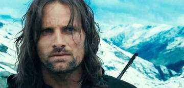 Lord of the Rings 1: Aragorn on the Carradras Pass