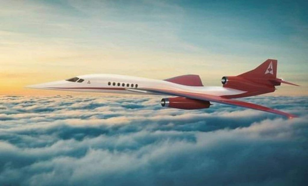 Connecting New York to London in an hour by plane is a crazy project of an American company - Ouest-France Evening Edition