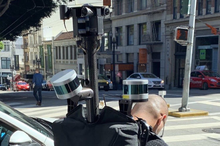 The plans: Apple launched a pedestrian photo collection in France
