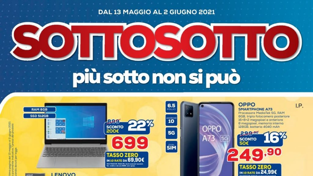 """Euronex Newsletter """"Sottocosto"""" and """"Megasconti"""" until 2 June: Double promotion, new stores coming soon"""
