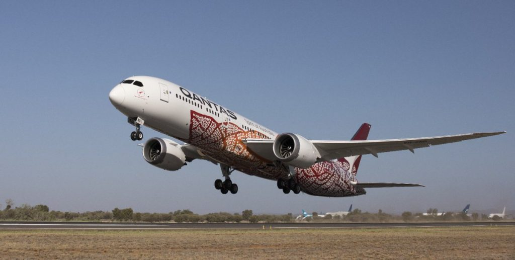 Qantas will fly to New Zealand with its Boeing 787-9