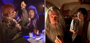 And The Lord of the Rings in Comparison: Frodo and Gandalf