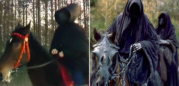 The Lord of the Rings in Comparison: Black Riders