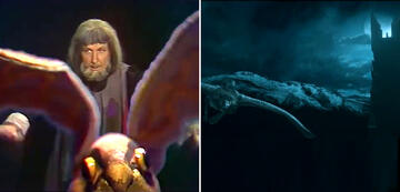 And The Lord of the Rings in Comparison: Gandalf on the Eagle