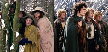 The Lord of the Rings in comparison: The Hobbits