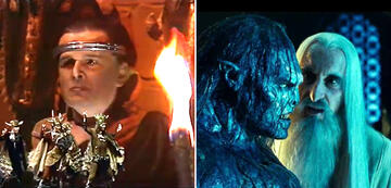 The Lord of the Rings in Comparison: Saruman & Orks / Uruk-hai