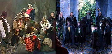 The Lord of the Rings in Comparison: The Ring Society