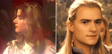 And the Lord of the Rings in comparison: Legolas