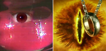 The Lord of the Rings in Comparison: The Eye of Sauron