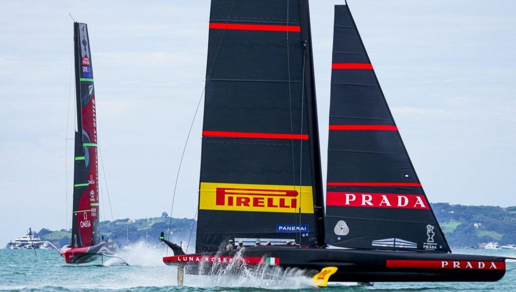 Diary from Auckland, New Zealand press now respects Luna Rossa