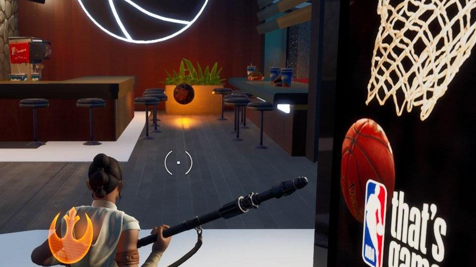 Fortnite: Find Five Hidden Basketball, NBA Creative Mode crossover challenge - Breakflip