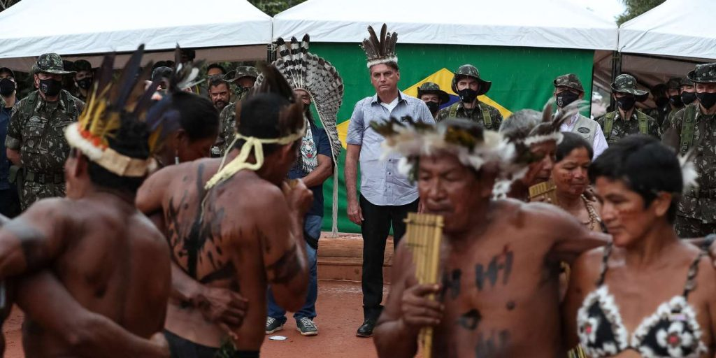 In Brazil, Jair Bolsonaro has promised the citizens of Yanomami to put an end to illegal mines