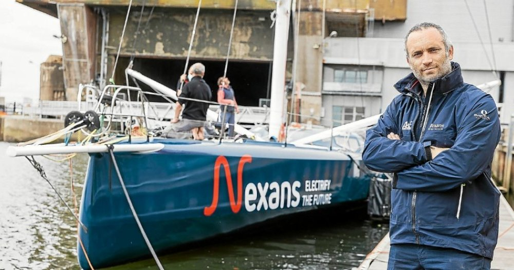 """Fabrice Amedeo: """"I put my boat in military service"""" - Ouray"""