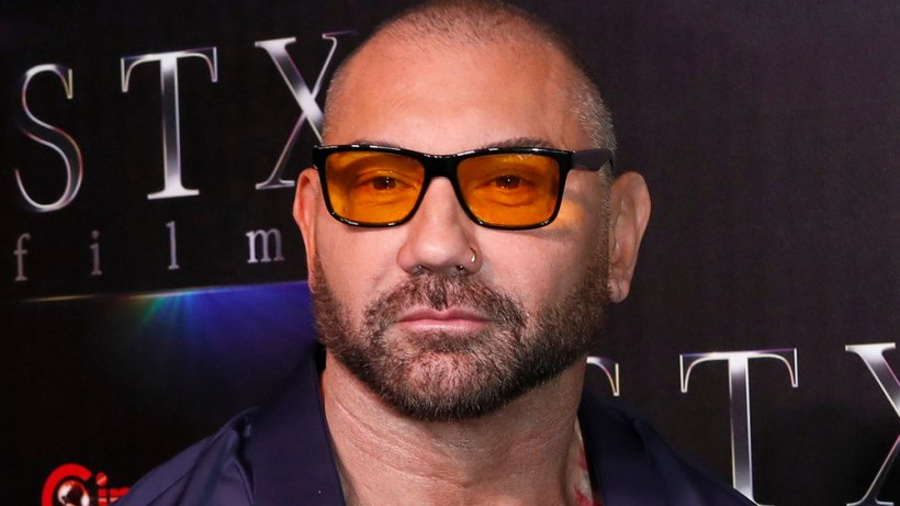 Dave Bautista stars alongside Daniel Craig in Knives Out, Part Two