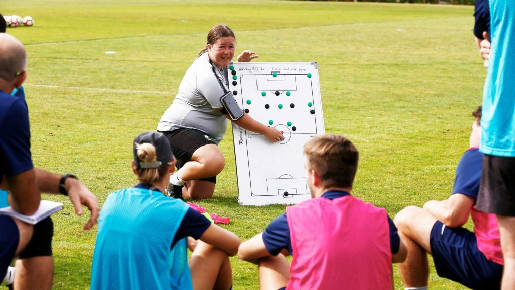 FIFA Women's World Cup 2023 - News - New Zealand helps coaches break through the glass ceiling