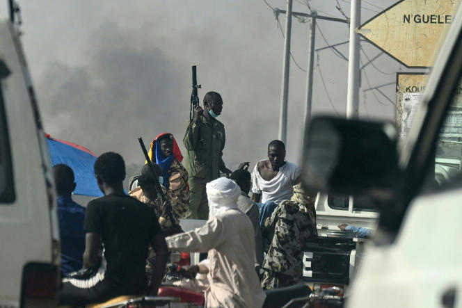 Clashes between police and protesters in N'Djamena on April 27, 2021, left between six and eleven people dead.