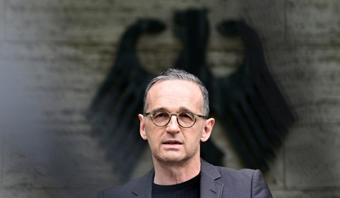 German Foreign Minister Heiko Maas will hold a press conference in Berlin on May 28, 2021, after Germany admitted for the first time that it had committed genocide in Namibia during its colonial occupation.