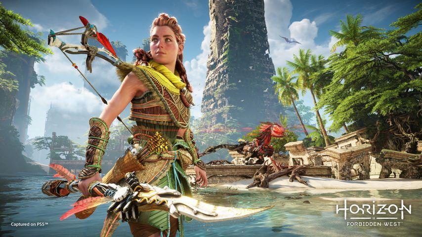 Horizon Forbidden West starred for 14 minutes on PS5 - teller report