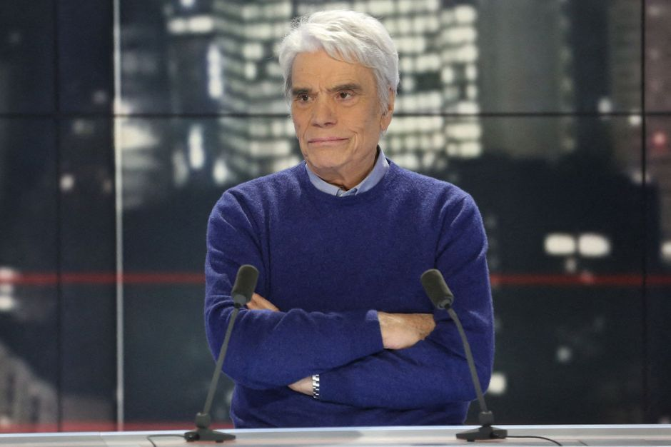 """Laurent Tapie evokes the """"extremely worrying"""" health of his father, Bernard"""