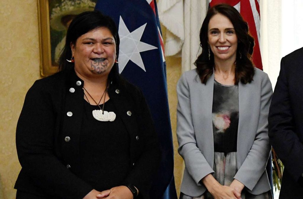 Nanaia Mahuta (links) wird Neuseelands Außenministerin. (Archivfoto) Foto: AFP/BIANCA DE MARCHI